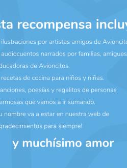 Recompensa Jardín Avioncitos #SigueVolando #1