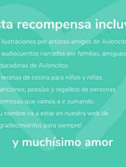 Recompensa Jardín Avioncitos #SigueVolando #2