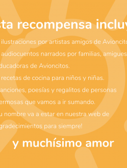 Recompensa Jardín Avioncitos #SigueVolando #3