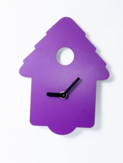 Reloj casita de pared